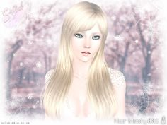 Straight with bangs hairstyle Aruna by S-Club Privee - Sims 3 Hairs Club Hairstyles, Celebrity Hairstyles, Hairstyles With Bangs, Straight Hairstyles, Bangs Hairstyle, Female Hairstyles, One Hair, Hair Dos, Medium Hair Styles