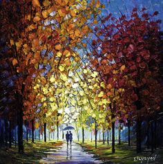 """""""Natural Harmony"""" Oil painting on canvas by Slava Ilyayev.   - Park West Gallery"""