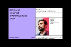 visual identity for graustufen podcast Website Layout, Web Layout, Layout Design, Editorial Layout, Editorial Design, Book Design, App Design, Cover Design, Mise En Page Web