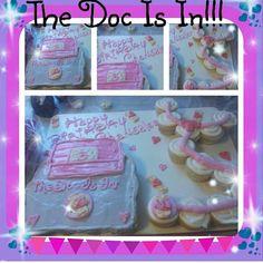 Doc mcstuffins cupcake cakes