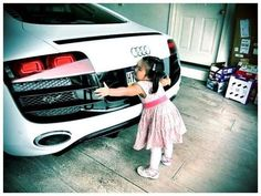Yes, I'd love on that car like that too: Audi r8 #dreamcar