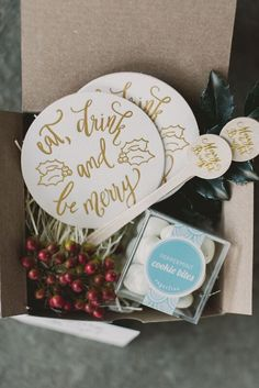 THANKSGIVING GIFT BOX Marigold & Grey creates artisan gifts for all occasions. Wedding welcome gifts. Workshop swag. Client gifts. Corporate event gifts. Bridesmaid gifts. Groomsmen Gifts. Holiday Gifts. Order online or inquire about custom gift design.  Image: Renee Hollingshead