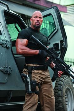 He was looking xtra thick in Fast Five!