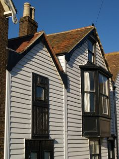 Houses on the sea front at Whitstable Kent [shared]