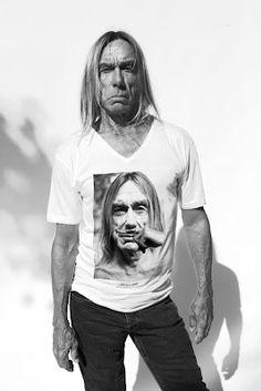 IGGY POP-post pop dépression T-Shirt Petit//The Stooges etc