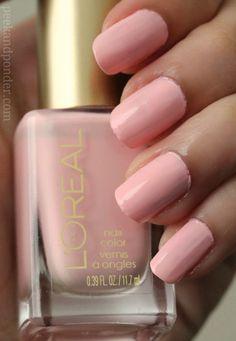 L'oreal The Palace Life polish #nails #pastelnails #springnails