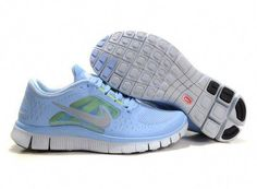 newest e2581 d70a2 Nike Free 2012 Run 3 Womens - Prism Blue Reflect Silver Pure Platinum Volt  510643 040
