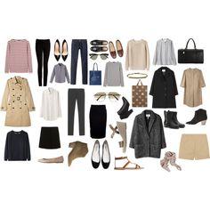 neutral wardrobe