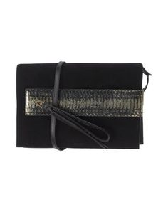 ELENA GHISELLINI Handbag. #elenaghisellini #bags #shoulder bags #clutch #lining #suede #hand bags #