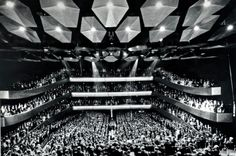 Lincoln Center's Avery Fisher Hall opening, 1962 #vintage