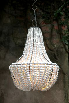 Hellooow Handmade chandeliers -crafted from recycled paper clay as empowerment enterprise
