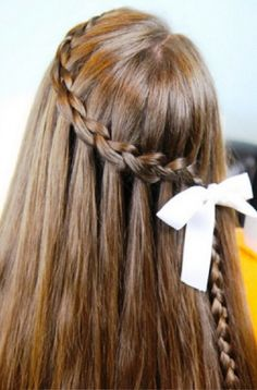 Prom Hairstyles with Braids | Photo Gallery of the Alluring Waterfall Braid Hairstyles
