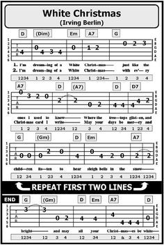 It is actually an awesome things to learn the guitar. You may explore your ingenuity, learn fine skill-sets and also soothe stress. Guitar Tabs Acoustic, Easy Guitar Tabs, Learn Guitar Chords, Easy Guitar Songs, Guitar Chords For Songs, Guitar Sheet Music, Lyrics And Chords, Ukulele Tabs, Guitar Tabs For Beginners