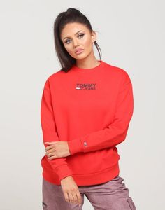 Shop the new Tommy Jeans Women's collection now available at Culture Kings. Featuring classic cuts, colors, iconic branding and a proven track record spanning three decades, this side of Tommy Hilfiger offers a modern twist to an iconic timeless brand. Culture Kings, Size Model, Scarlet, Adidas Jacket, Tommy Hilfiger, Youth, Crew Neck, Group, Jeans