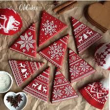 Image result for gingerbread cookies sweater pattern
