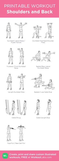 Shoulders and Back workout!
