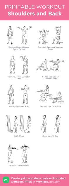 Shoulders and Backworkout!