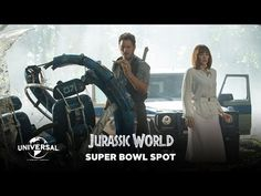 Universal Pictures just released the special Super Bowl TV Spot for Colin Trevorrow's Jurassic World (2015). This TV spot shows very little as in additional footage but there are a small few. Definitely a more polished TV spot so check it out for yourself. Starring in Jurassic World are Chris Pratt, Judy Greer and Ty Simpkins. please follow me,thank you i will refollow you later