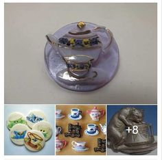 Tea Time from Colorado State Button Society on FACEBOOK. Click on image for slide show. #buttonlovers