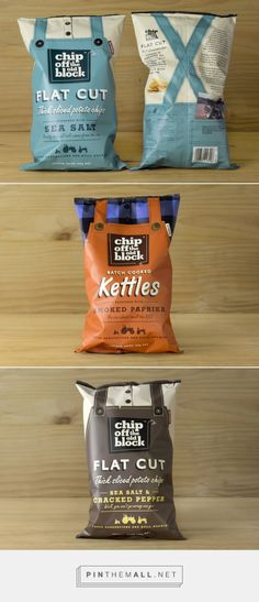 Chip Off The Old Block — The Dieline - Branding & Packaging Design - created…