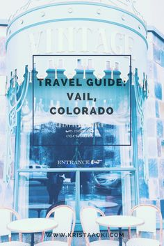 Winter Travel Guide: Vail, Colorado @ kristaaoki.com, a lifestyle & travel blog   Vail is a world renowned skiing and snowboarding destination. What does it have to offer apres ski and off the slopes?