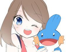 Sapphire Pokemon, Mudkip, Pokemon People, Pokemon Special, Anime Princess, Best Fan, Cute Pokemon, Awesome Anime, Oras