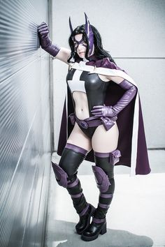 Huntress | DC Comics Costume made and worn by Windofthestars.com, Photo by Mike Rollerson