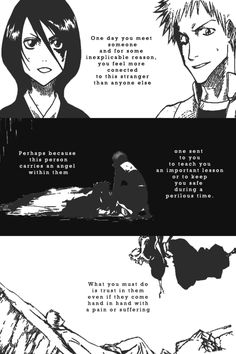 Ichiruki. Isshmasa. Ginran. - One day you meet a stranger and feel more connected to them than anyone else