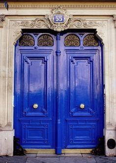 Inspiración en color azul. Blue inspiration.