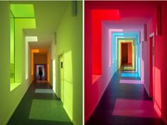 Rainbow-colored-interior-light-room-modern| amazing use of color in a school
