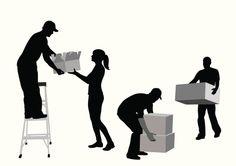 Vectores libres de derechos: MovingBoxes