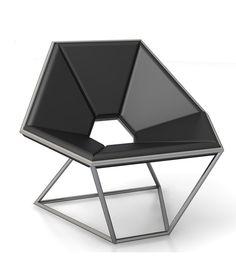 Hexa Lounge Chair by Antonio Pio Saracino for Contempo