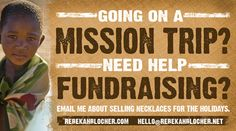 fundraising for missions