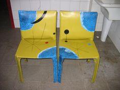 COLEÇÃO MIRÓ IC | Flickr - Photo Sharing! Chair, Furniture, Home Decor, Art, Craft Art, Room Decor, Kunst, Stool, Home Interior Design