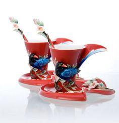 Franz Porcelain Joyful Magpie Collection