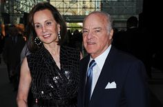 Marie-Josse and Henry Kravis - Co-chairs at the Robin Hood Gala which raied 80 million towards stopping NYC poverty.