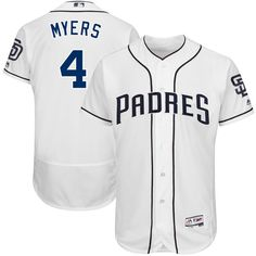 Wil Myers San Diego Padres Majestic 2017 Flex Base Authentic Player Jersey - White - $309.99
