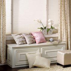 DIY chest bench
