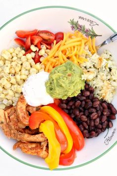 Instant Pot Chicken Fajita Bowls--the pot-in-pot cooking method allows you to cook cilantro lime rice seasoned chicken onions and bell peppers all together and in just a few minutes in your electric pressure cooker. Then they are layered in a bowl with Chicken Fajita Bowl, Fajita Bowls, Chicken Fajitas, Chicken Seasoning, Ip Chicken, Slow Cooker, Pressure Cooker Recipes, Pressure Cooking, Cilantro Lime Rice