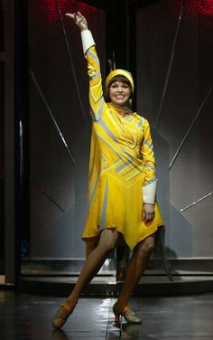 Sutton Foster Thoroughly Modern Millie, 2002. #theatre