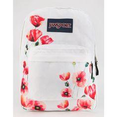 JanSport SuperBreak Backpack (498.300 IDR) ❤ liked on Polyvore featuring bags, backpacks, red combo, jansport rucksack, polyester backpack, knapsack bags, strap bag and red bag