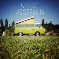 We go #westfalia
