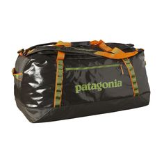 Our largest duffel for extended and gear-intensive travel, the burly Black Hole Duffel 120L lives for abuse. Check it out at Patagonia.com.