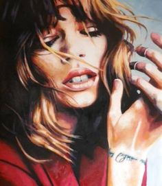"""Last night the DJ saved my life,"" original figurative painting by artist Thomas Saliot (France) available at Saatchi Art #SaatchiArt"
