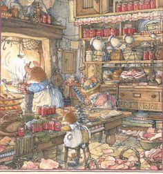 Brambly Hedge - Mrs. Mouse's Kitchen