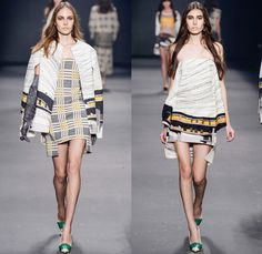 Forum 2014 Winter Womens Runway Collection - São Paulo Fashion Week Brazil - Inverno 2014 Mulheres Desfiles - Cityscape Illustrations Graphi...