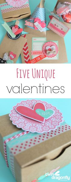 Five Unique Valentines made with Target One Spot products!  Hurry to Target my friends!!!