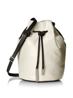 Halston Heritage Women's Bucket Bag, Bone Multi, http://www.myhabit.com/redirect/ref=qd_sw_dp_pi_li?url=http%3A%2F%2Fwww.myhabit.com%2Fdp%2FB00TPNXG6S%3F