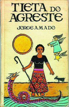 Tieta d'Agreste  - livro de Jorge Amado