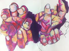 Hands by Penny Jeffries 2nd yr.